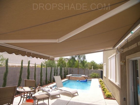 Retractable Awnings Motorized Or Manual Las Vegas