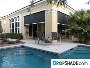 Patio Drop Shade Images